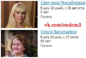 Возраст Светланы Михайловны Устиненко и Ольги Васильевны Гобозовой