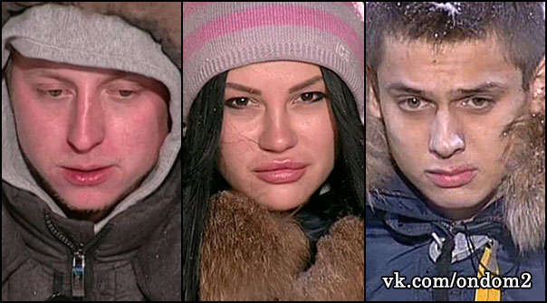 Евгений Руднев, Татьяна Охулкова, Евгений Семениченко