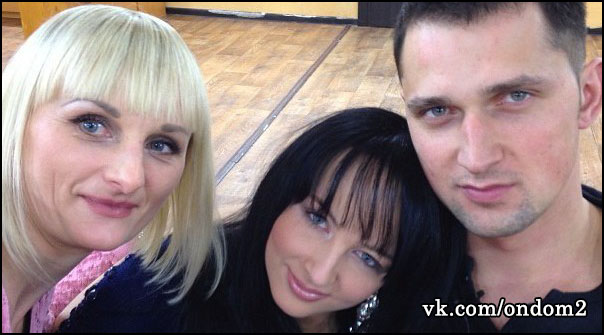 Марина Уварова, Валерия Уварова, Сергей Сичкар