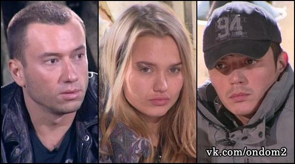 Михаил Терёхин, Марта Геориева (Соболевская), Евгений Кузин