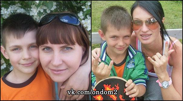 Вадим Зинин, Наталья Феофилактова (Зинина), Евгения Гусева (Феофилактова)