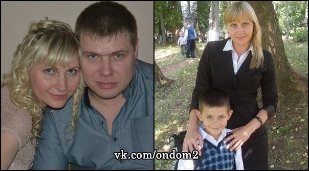 Наталья Зинина, муж Натальи Зининой, сын Вадим Зинин