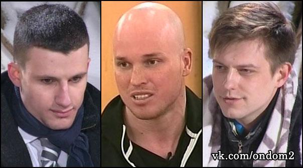 Евгений Король, Софьен Даруиш, Дмитрий Азовский