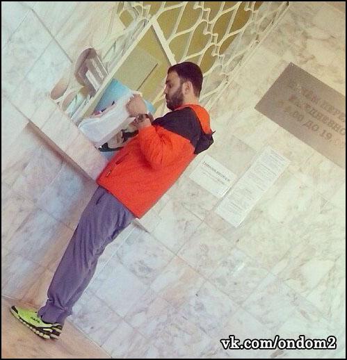 Александр Гобозов пришел в больницу к Алиане