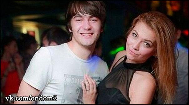 Анна Кручинина, парень из клуба