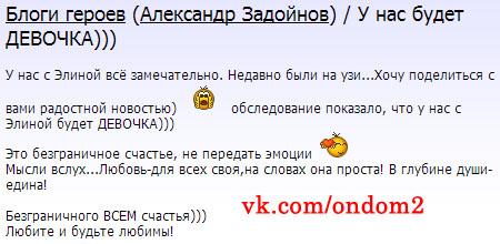 Официальный блог Александра Задойнова