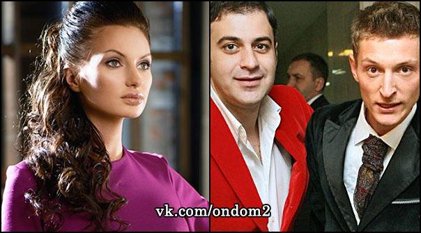 Евгения  Феофилактова (Гусева), Гарик Мартиросян, Павел Воля