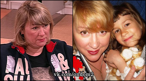 Людмила Валерьевна Руднева (Тишкова), дочь Соня