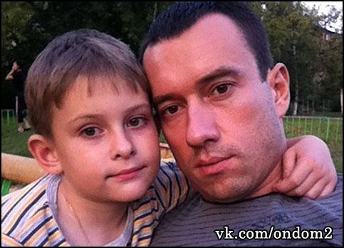 Михаил Терёхин, сын Даниил Терёхни