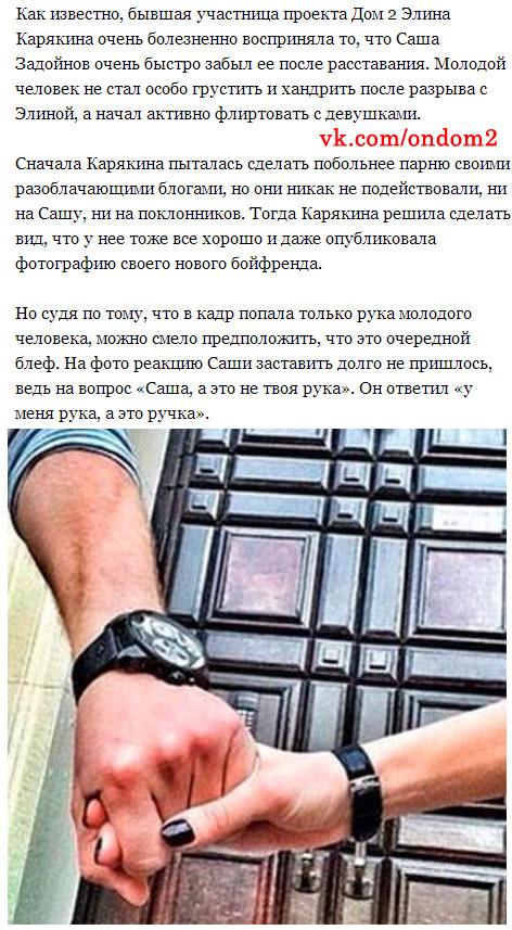 Статья про Элину Карякину (Камирен) и Александра Задойнова