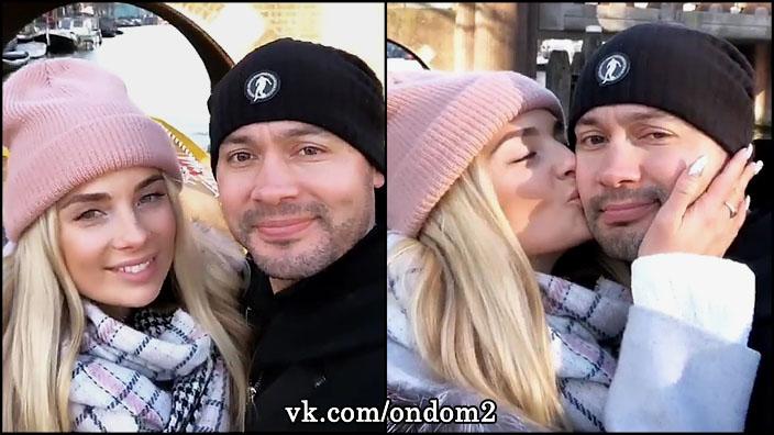 Андрей Черкасов и Кристина Ослина стали мужем и женой.