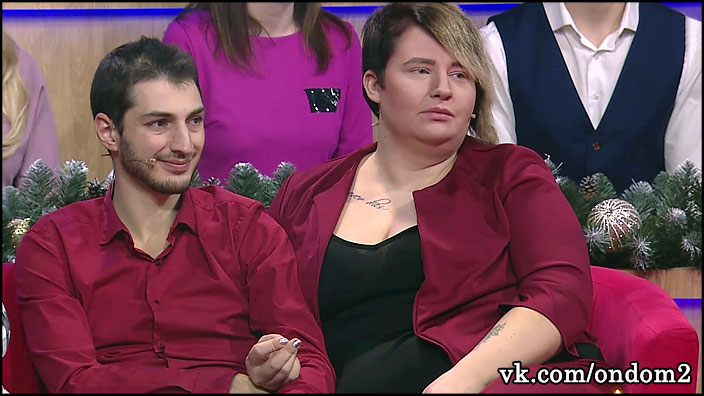 Александра Черно и Иосиф Оганесян расписались. Выложено первое видео из ЗАГСа.