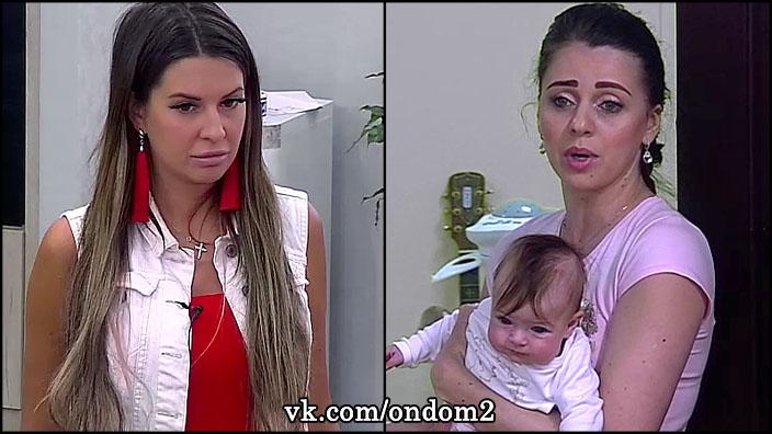 Безумный взгляд Майи Донцовой напугал маленькую Василису Дмитренко.