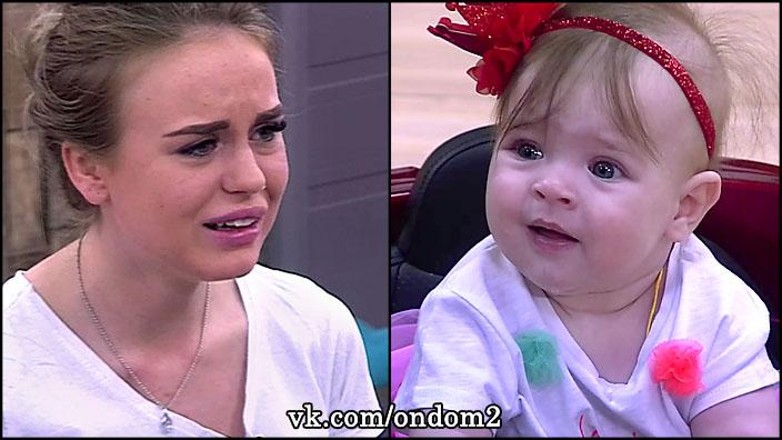 Милена Безбородова орала так, что напугала маленькую Василису Дмитренко.
