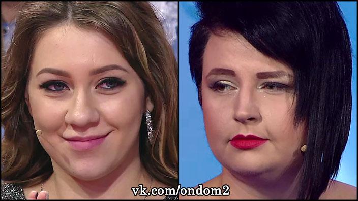 Живот Александры Черно даже больше, чем у беременной Алёны Савкиной.