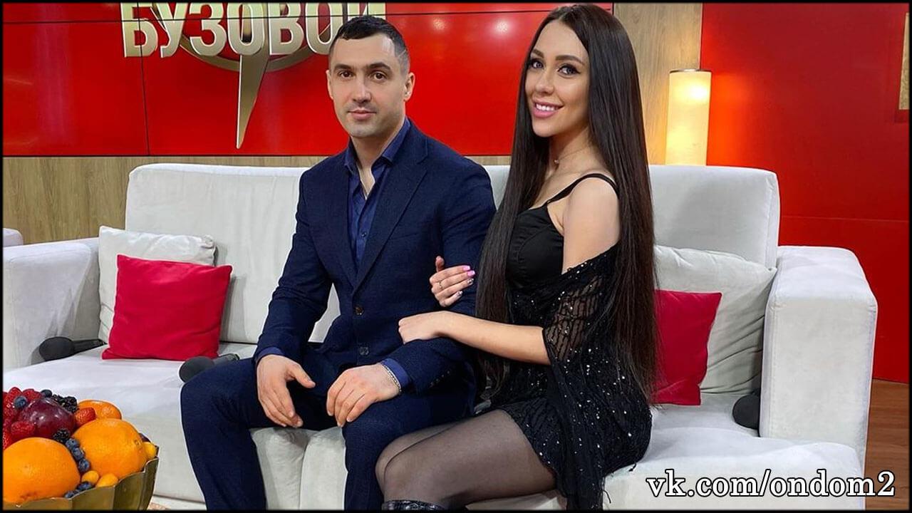 Распущенная Савкина повисла на Денисе и целовалась с языком + видео