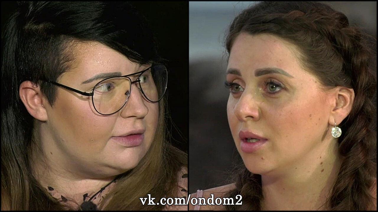 Многокилограммовая Черно исподтишка напала на беременную Ольгу Рапунцель